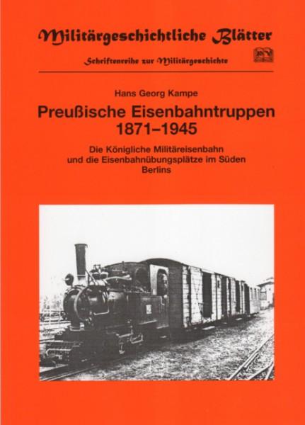 Preußische Eisenbahntruppen 1871 - 1945
