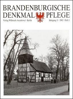 Brandenburgische Denkmalpflege 2002 - Heft 1