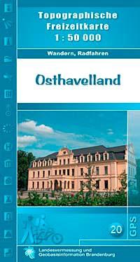 Topografische Freizeitkarte Osthavelland