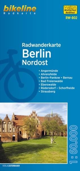 Radwanderkarte Berlin Nordost und Umland 1:60 000