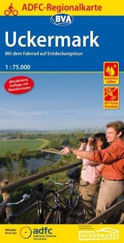 ADFC-Regionalkarte Uckermark 1:75 000