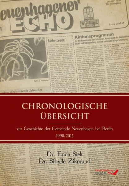 Chronologische Übersicht zur Geschichte von Neuenhagen b. Berlin