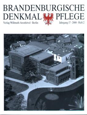 Brandenburgische Denkmalpflege 2008 - Heft 2