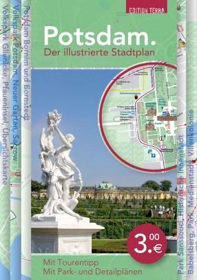 Potsdam. Der illustrierte Stadtplan