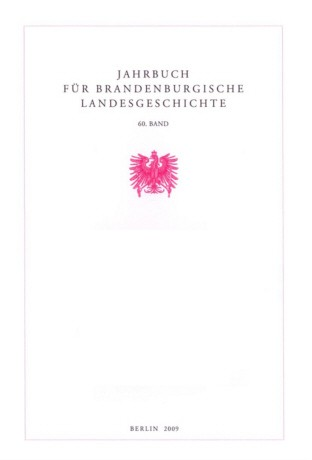 Jahrbuch für brandenburgische Landesgeschichte - Band 62