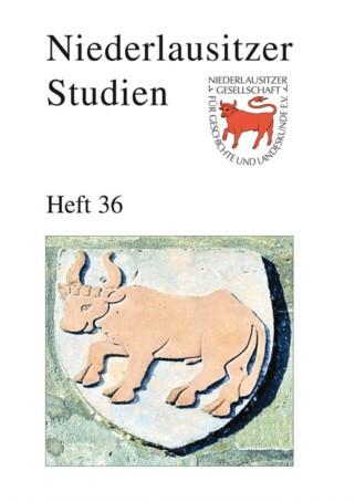 Niederlausitzer Studien - Heft 36 / 2010