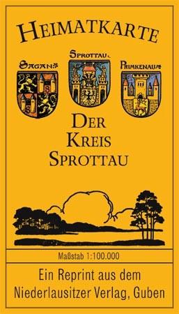 Heimatkarte - Der alte Kreis Sprottau (Schlesien)