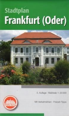 Stadtplan Frankfurt / Oder 1:20 000