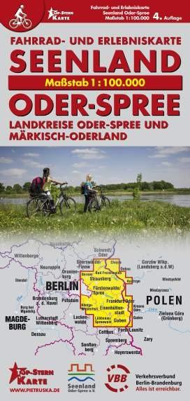 Fahrrad- und Erlebniskarte Seenland - Oder-Spree 1: 100 000