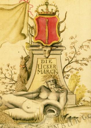 Karte Die Uckermarck (1720- 1740)