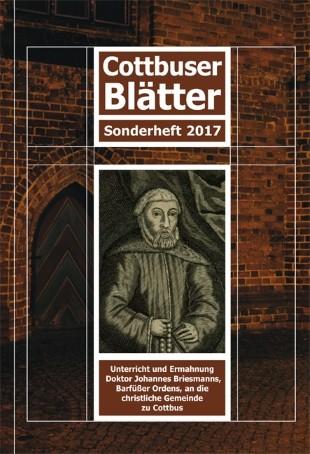 Cottbuser Blätter - Sonderheft 2017