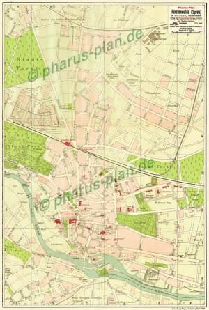 Pharus-Plan Fürstenwalde (Spree) 1933
