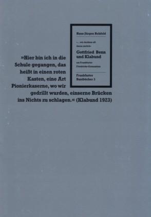 Gottfried Benn und Klabund