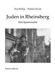 Juden in Rheinsberg. Eine Spurensuche
