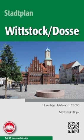 Stadtplan Wittstock / Dosse 1:25 000