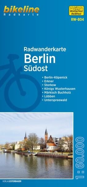 Radwanderkarte Berlin Südost und Umland 1:60 000