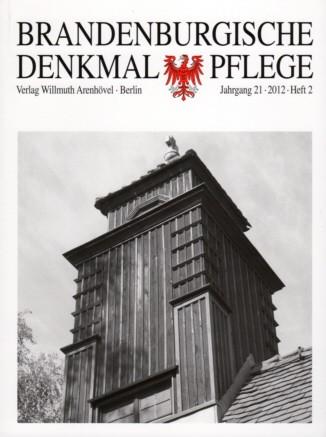 Brandenburgische Denkmalpflege 2012 - Heft 2