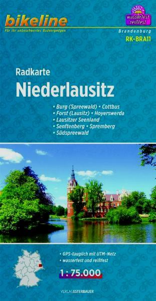 Radkarte Niederlausitz 1:75 000
