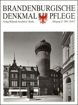 Brandenburgische Denkmalpflege 2003 - Heft 2