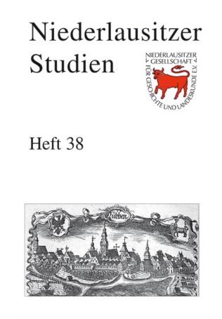 Niederlausitzer Studien - Heft 38 / 2012