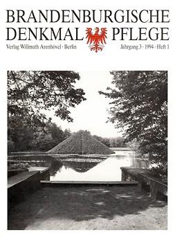 Brandenburgische Denkmalpflege 1994 - Heft 1