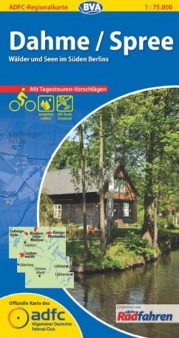 Dahme / Spree - ADFC-Regionalkarte 1:75 000