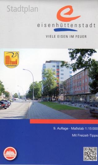 Stadtplan Eisenhüttenstadt 1:15 000