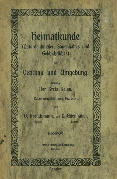 Heimatkunde von Vetschau und Umgebung (1906)
