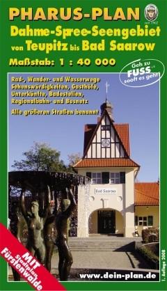 Rad- und Wanderkarte Dahme-Spree-Seengebiet 1:40 000