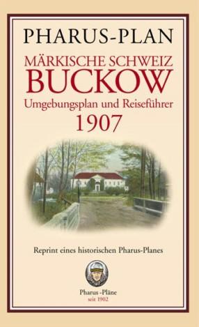 Pharus-Plan Märkische Schweiz / Buckow 1907