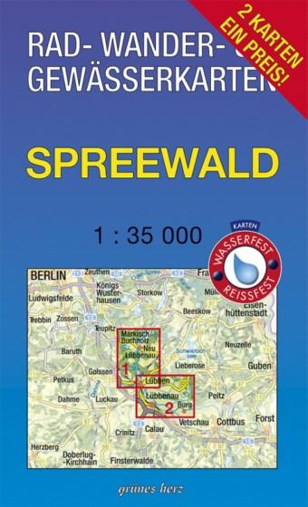 Karten-Set Ober- und Unterspreewald 1:35 000 (2 Karten)