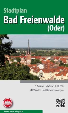 Stadtplan Bad Freienwalde 1: 20 000