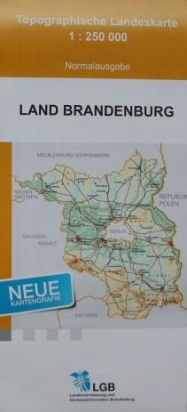 Topografische Landeskarte 1:250 000 Normalausgabe