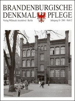 Brandenburgische Denkmalpflege 2001 - Heft 2