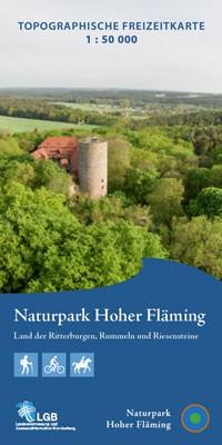 Topografische Freizeitkarte Naturpark Hoher Fläming