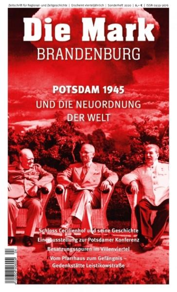 Potsdam 1945 - Sonderheft der Zeitschrift Die Mark Brandenburg