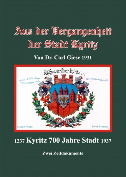 Aus der Vergangenheit der Stadt Kyritz