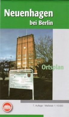 Neuenhagen b. Berlin - Stadtplan 1:10 000