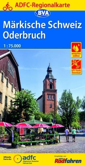Märkische Schweiz / Oderbruch 1:75 000