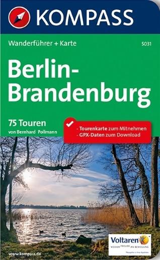 Wanderführer Berlin-Brandenburg mit extra Karte