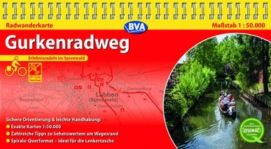 Gurkenradweg 1:50 000 mit GPS-Track-Download