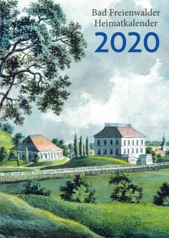 Buchcover Bad Freienwalder Heimatkalender 2020