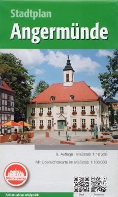 Angermünde - Stadtplan 1:18 500