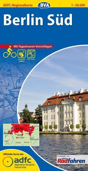 Berlin Süd - ADFC-Regionalkarte 1:50 000
