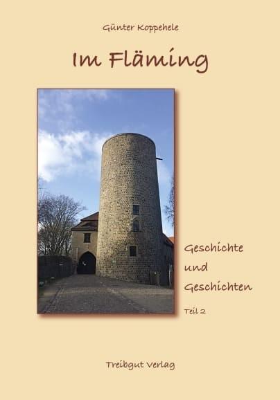 """Cover des Buches """"Im Fläming - Geschichte und Geschichten"""" Teil 2"""
