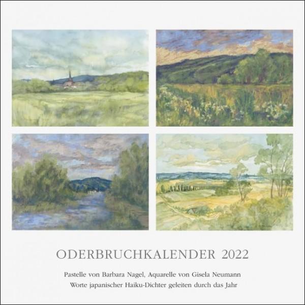 Oderbruchkalender 2022 - Aquarelle und Pastelle