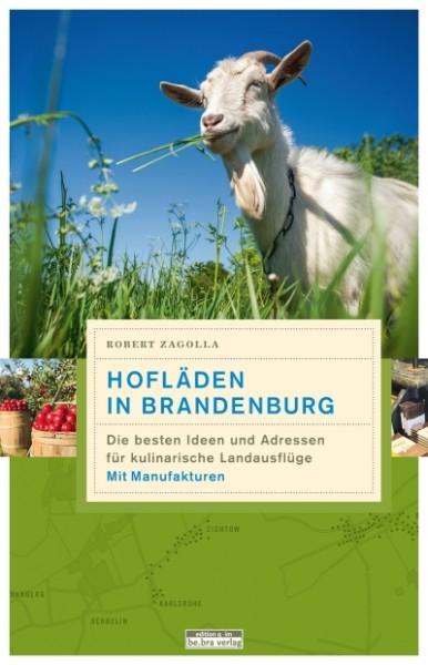 Buchcover vom Hofladenführer Brandenburg