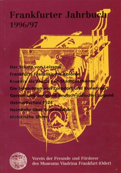 Frankfurter Jahrbuch 1996/97