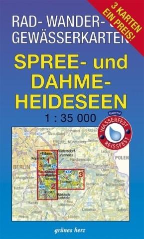 Karten-Set Spree- und Dahme-Heideseen (3 Karten)