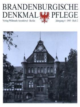 Brandenburgische Denkmalpflege 1995 - Heft 2